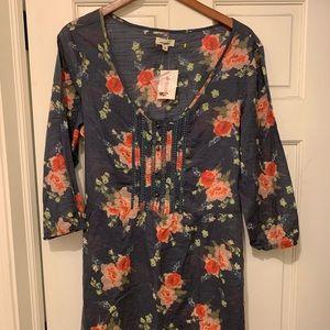 Aerie 3/4 sleeve dress. Size XL NWT